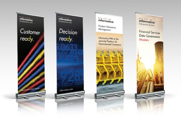 Informatica Roll up Banners